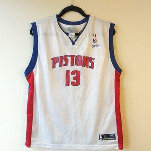 Vintage DETROIT PISTON MEHMET OKUR #13 Jersey